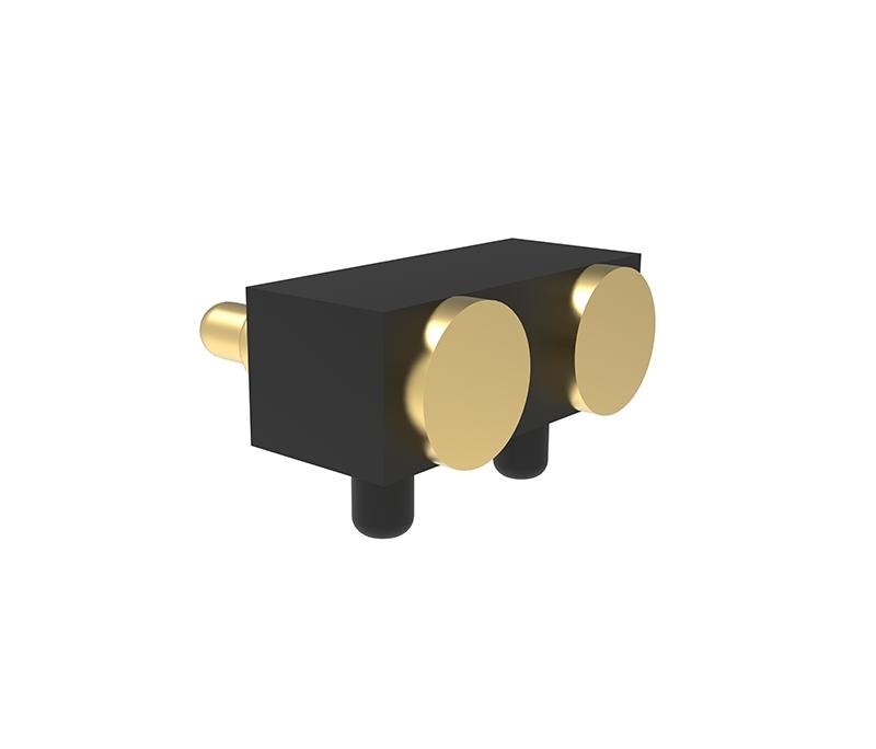 侧贴2Pin弹簧针连接器